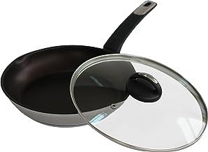 Lamart Stainless Steel Pan, 24 cm, Grey - LTSP2450