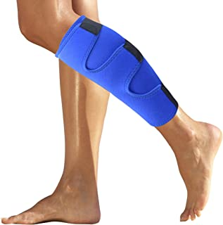 Roxofit Calf Brace - Shin Splint Compression Support Wrap for Calf Pain Relief, Strain, Sprain, Shin Splints, Injury, Tennis Leg. Best Lower Leg Brace for Men and Women.