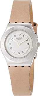 Womens Analogue Quartz Watch with Leather Strap YSS321