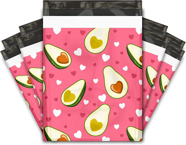 New color 10x13 mart 100 Avocado Designer Poly Mailers Shipping Envelopes Pre