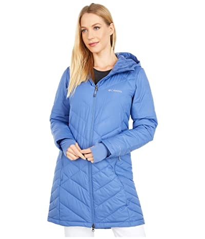 Columbia Heavenly Long Hooded Jacket (Velvet Cove) Women