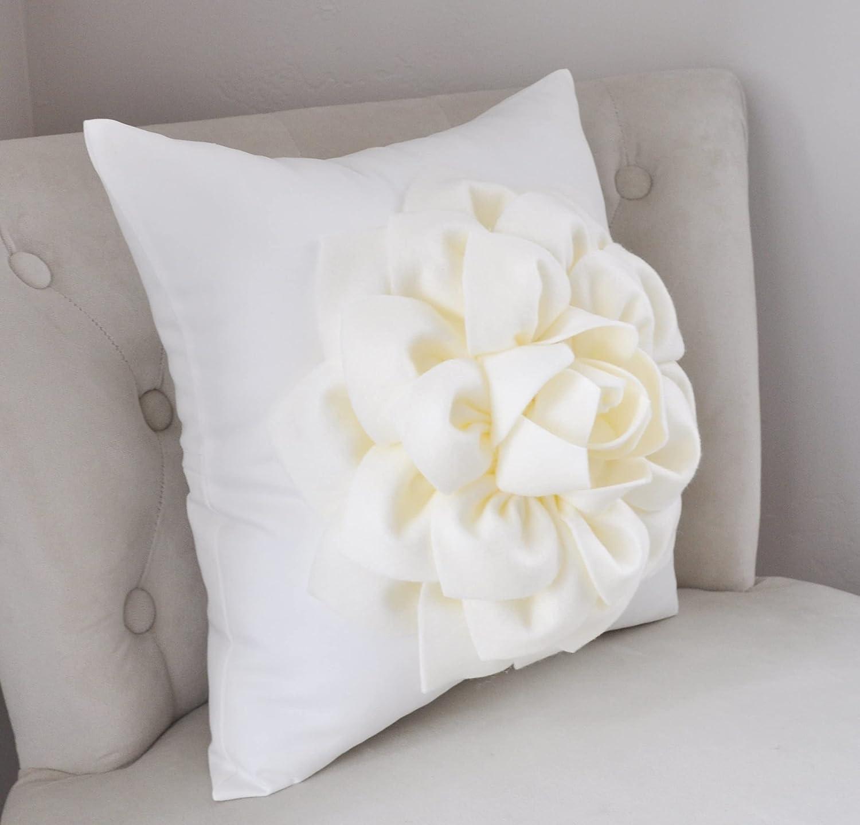 Ivory Ranking TOP18 Dahlia 5 popular on Pillow