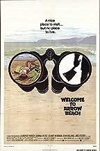 WELCOME TO ARROW BEACH original 1974 27x41 one sheet movie poster LAURENCE HARVEY/JOANNA PETTET/MEG FOSTER/SERIAL KILLER