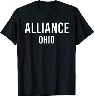 ALLIANCE OHIO OH USA Patriotic Vintage Sports T-Shirt