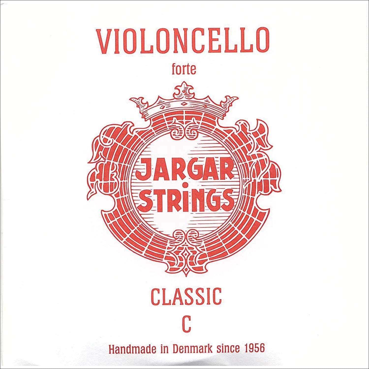 Sale price Jargar 4 Cello C Chromesteel Forte Cheap mail order specialty store Thick String
