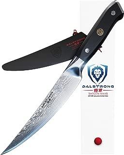 DALSTRONG Fillet Knife - Shogun Series -Damascus - Japanese AUS-10V Super Steel - Vacuum Heat Treated - 6