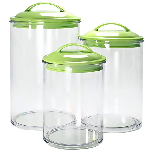 Green Kitchen Canisters: Amazon.com