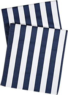 Best blue and white striped table runner Reviews