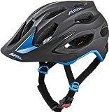 ALPINA CARAPAX 2.0 Fahrradhelm, Unisex– Erwachsene, black-blue, 52-57