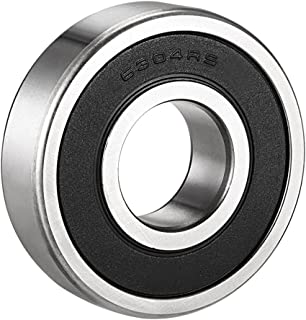 Quluxe 4 Pcs of 0.78in Inner Dia Deep Groove Ball Bearing Double Rubber Seal Bearings 6004-2RS