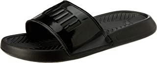 Puma Slides Slippers For Women, Black, 38 EU