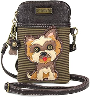 Best Chala Crossbody Cell Phone Purse - Women PU Leather Multicolor Handbag with Adjustable Strap Review
