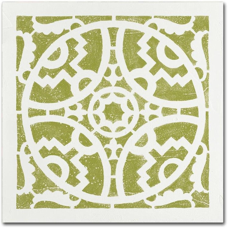 Trademark Fine Art WAP02229-C1414GG Moira Hershey 'Hacienda Tile IV' Wall Art
