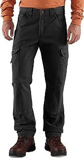 カーハート ボトムス カジュアル Carhartt Men's Ripstop Pants Black [並行輸入品]