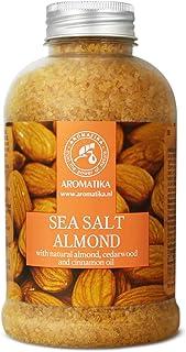 Sal de Baño 600g - Sal Marina con Aceites de Almendras para