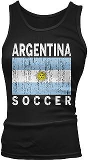 Amdesco Junior's Team Argentina Soccer, Argentine Football Tank Top