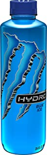 Monster Energy Hydro Sports Drink, Blue Ice, 25.5 ounce (Pack of 12)