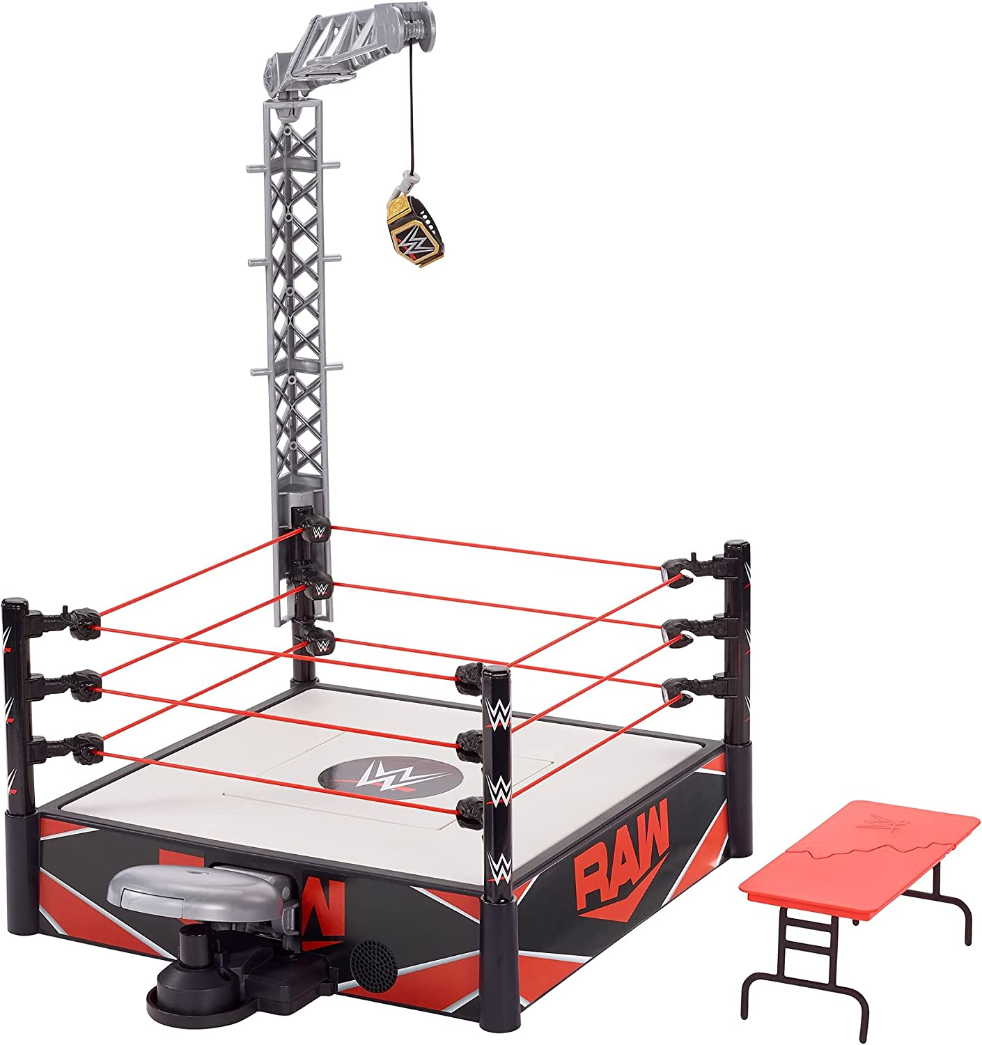 Max 80% OFFicial OFF WWE Wrekkin Kickout Ring Playset 20-in 13-in 33.02-cm x 50.8-