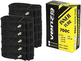 Venzo 10x Road Bike Tyre Inner Tubes 700x28/32C F/V 36mm