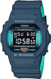 Casio Mens Digital Quartz Watch with Resin Strap DW-5600CC-2ER