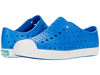 Native Kids Shoes Jefferson (Little Kid/Big Kid) (Megamarine Blue/Shell White) Kid