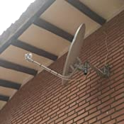 Engel AN0432E - Antena parabólica (80 cm, con soporte pared ...