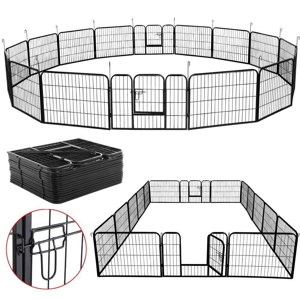 Yaheetech Exercise Barrier Playpen Kennel