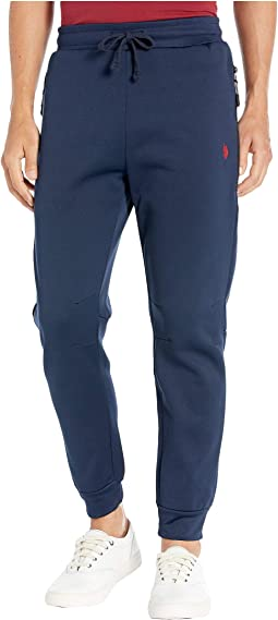 Fleece Joggers with Side Zip Pockets