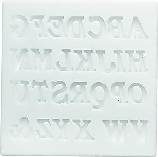 Silikomart - SLK328 Silicone Mould Alphabet White