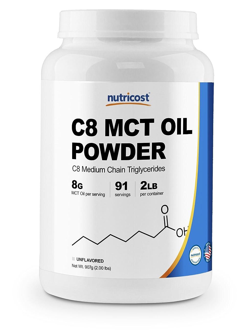 ターゲットアンケート分布Nutricost C8 MCT オイル パウダー 2LB(32オンス)、 95% C8 MCT オイル パウダー