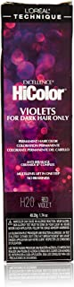 L'oreal Paris Excellence Hicolor Permanent Hair Color, Red Violet