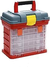 Toolbox Multifunctionele 4 Lagen Plastic Doos Grote Visserij Doos Schroef Onderdelen Opbergdoos Opslag Vissen Lokt Doos Ac...