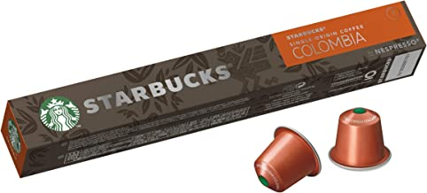 Starbucks by Nespresso Single Origin Colombia Coffee Pods 10 Capsules