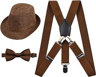مجموعه تعلیق Alizeal و اینچ کراوات 1 اینچ با کلاه تطبیقی برای کودکان