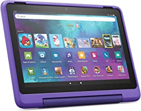 """New: Fire HD 10 Kids Pro tablet   for ages 6-12   10.1"""", 1080p Full HD, 32 GB   Doodle Kid-Friendly Case"""