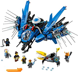 LEGO Ninjago Movie Lightning Jet 70614 Building Kit (876 Piece)