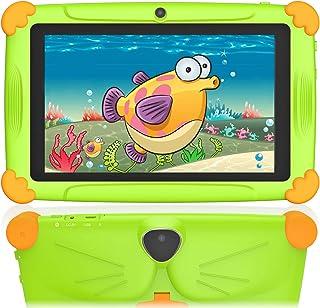 Tablet per Bambini 7 Pollici 2 a 12 Anni Android 10.0 WIFI GMS 32GB di ROM 3GB RAM, Supporto 128 GB Espandibile Doppia Fot...