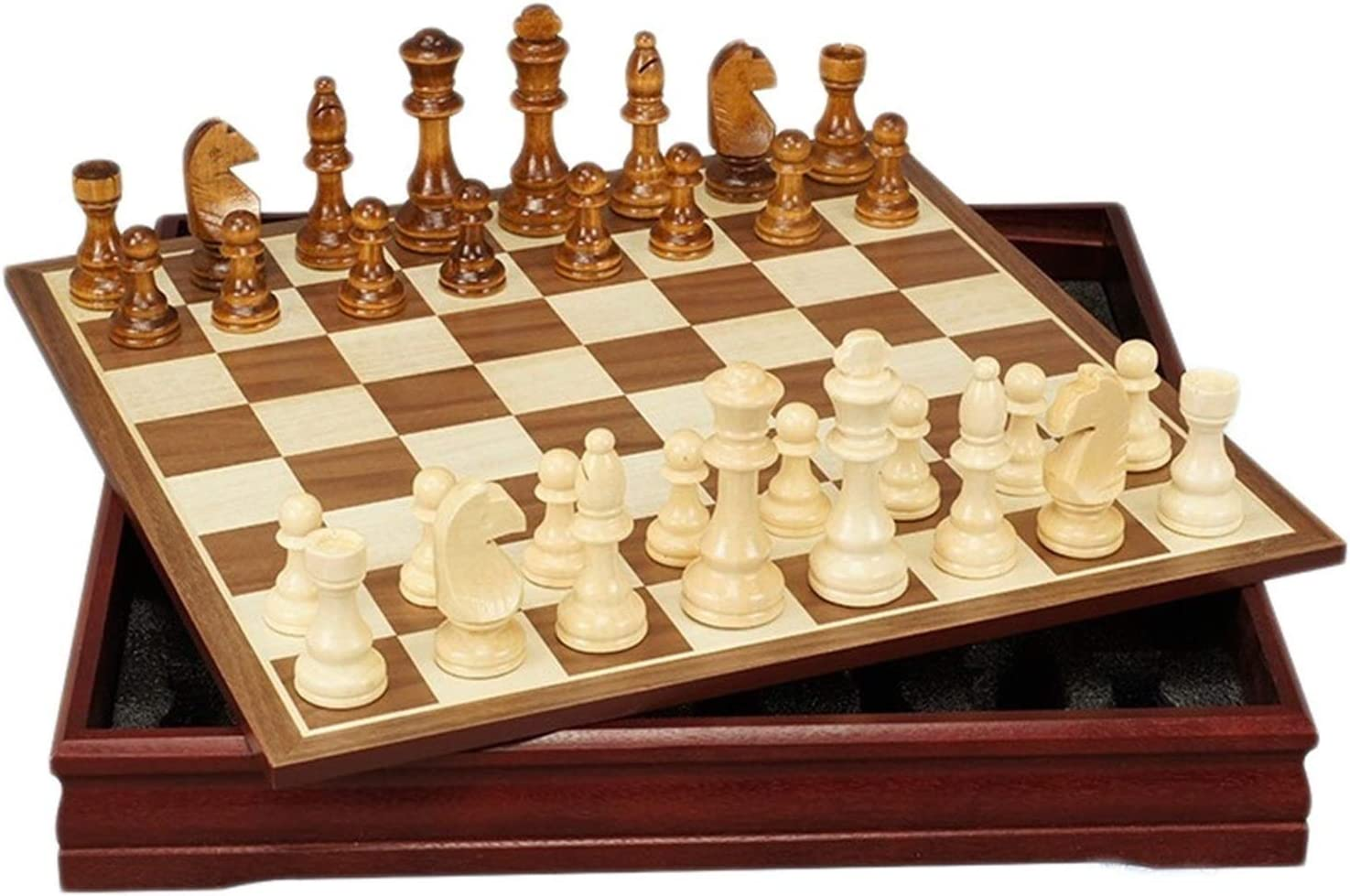 Limited Max 70% OFF time for free shipping QIAOLI International Chess Wooden Creative Board Woo