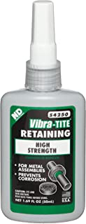 Vibra-TITE 542 High Strength Large Gap Anaerobic Retaining Compound, 50 ml Bottle, Green