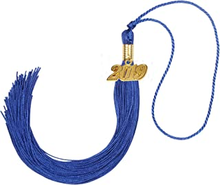 GraduationForYou Academic Graduation Tassel with 2019 Year Charm, Available for 2019 Graduation Ceremony