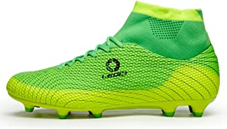 Performance Men's Soccer Shoe Outdoor Soccer Cleat (9.5 D(M) US, Green)