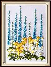 Wandafull Ribbon embroidery Kit Handmade Flowers(No frame)