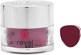 Revel Nail Dip Powder   for Manicures   Nail Polish Alternative   Non-Toxic, Odor-Free   Crack & Chip Resistant   Vegan, Cruelty-Free   Can Last Up to 8 Weeks   0.5oz Jar   Cream   Ginger