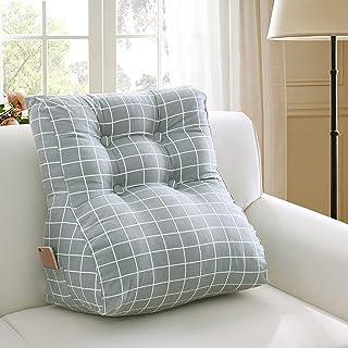 LIQICAI Coussin lombaire Canapé de lit Chaise de bureau Coussins de repos Coton Dos Soutien Alu de lecture Amovible Cove-2...
