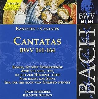 Bach: Cantatas BWV 161-164