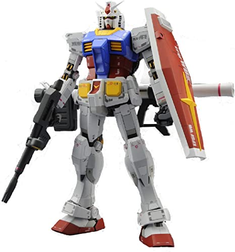 Bandai Hobby MG Gundam rx-78–2 rsion 3.0 tion Figur Model Kit, Ma ab 1  100