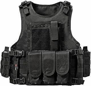 Xinwcang Militaire Veste de Protection Gilet Tactique pour Entra/înement de S/écurit/é Chasse Ext/érieure CS de Combat