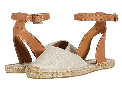 Soludos Alix Classic Sandal (Ivory) Women