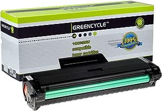 GREENCYCLE 1 Pack Black Toner Cartridges MLT-D104L for Samsung ML-1665 SCX-3201 3206 Series