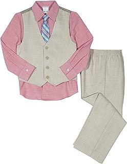 Van Heusen Baby Boys Patterned Four-Piece Vest Set